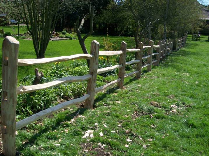 Traditional Fencing Amp Gates Rustic Carpentry