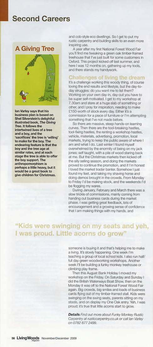 Living Woods magazine page 3