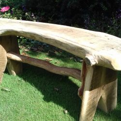 rustic garden furniture. Rustic-garden-bench Rustic Garden Furniture Carpentry