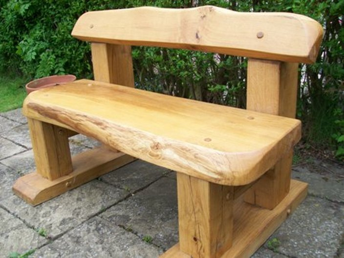 Strange Well Known Rustic Wooden Garden Bench Dm17 Ncnpc Chair Design For Home Ncnpcorg