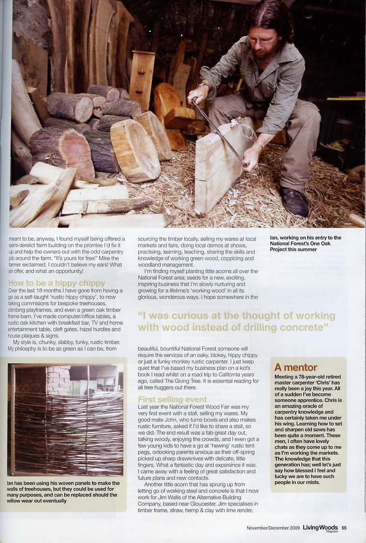 Living Woods magazine page 2