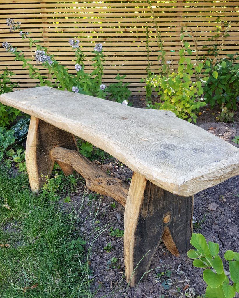 View larger rustic oak kitchen table