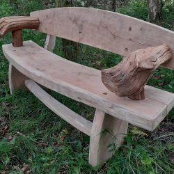 rustic-bench